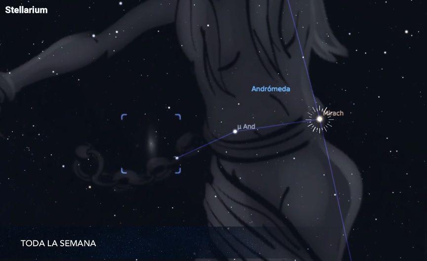 Andrómeda-Galaxia-Mexico-Astronomia