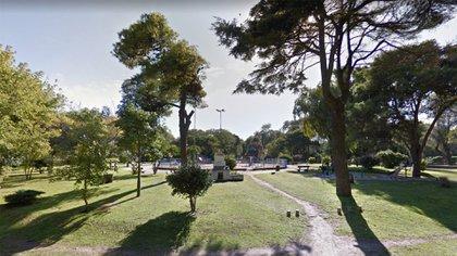 La Plaza del Lago en el barrio Bosque Alegre.