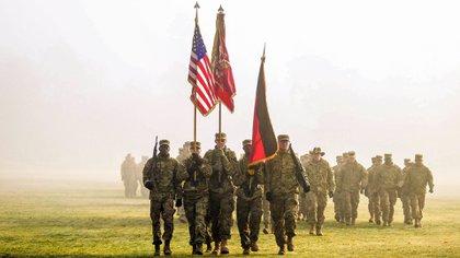 Tropas estadounidense y de la OTAN en Alemania. Mandatory Credit: Photo by U S Army/ZUMA Wire/Shutterstock (10044972dv)
