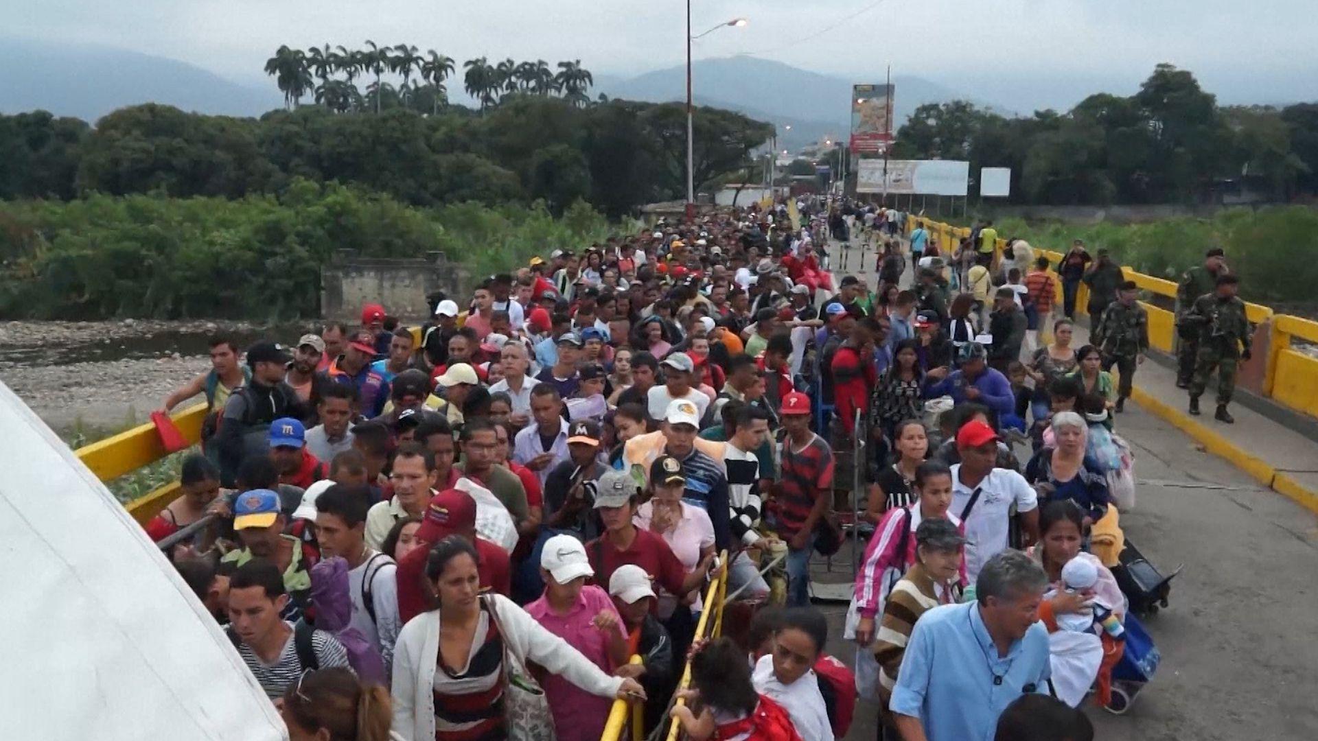 Miles de venezolanos salieron del país en los últimos años