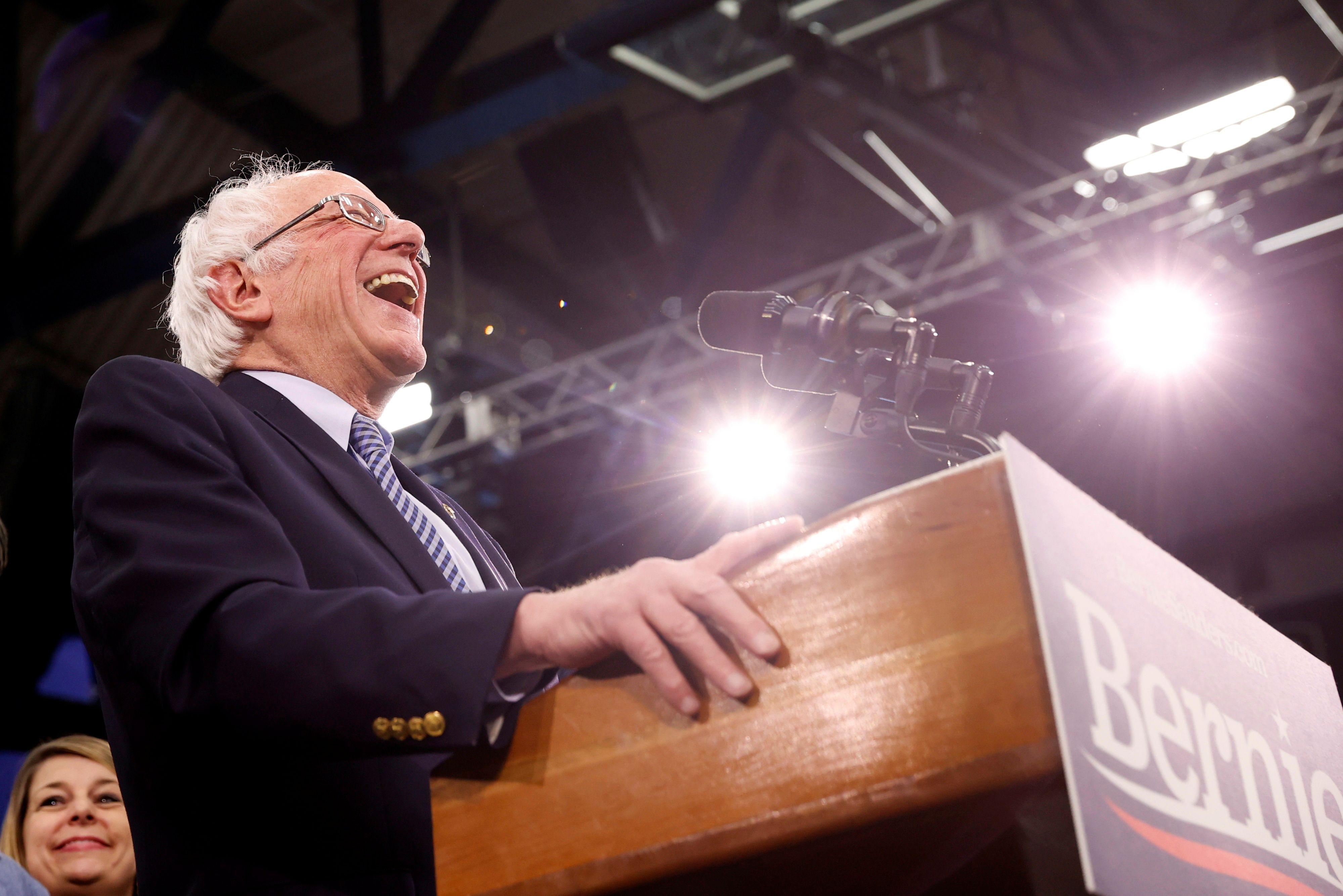 Bernie Sanders (REUTERS/Mike Segar)