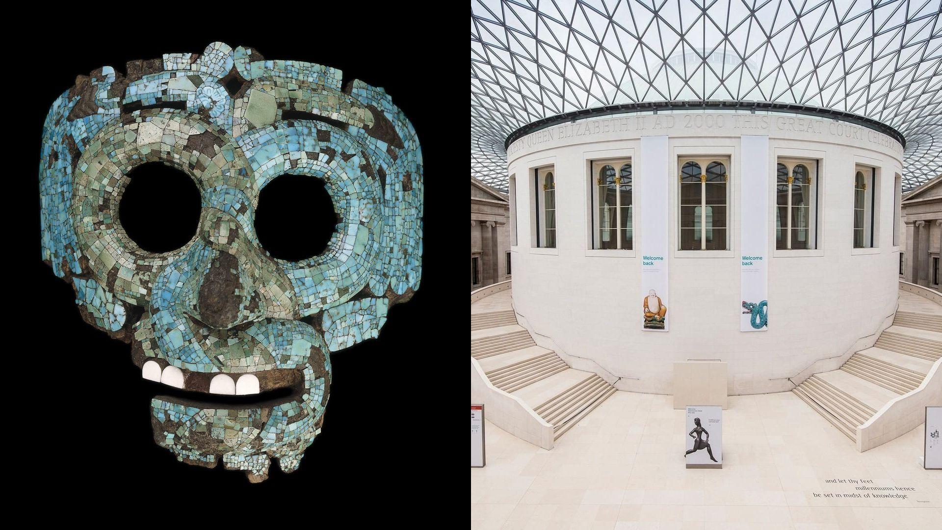 Máscara de Quetzalcoatl - British Museum