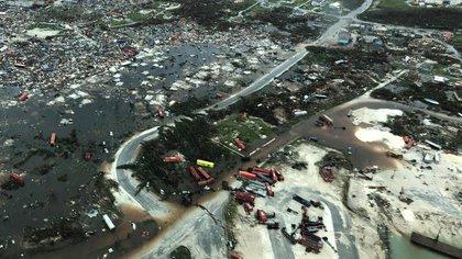 Imágenes de la devastación causada por el paso del huracán por la isla caribeña.