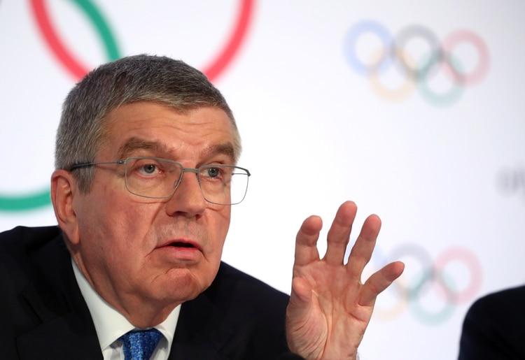 Thomas Bach, Presidente del COI (REUTERS/Denis Balibouse)