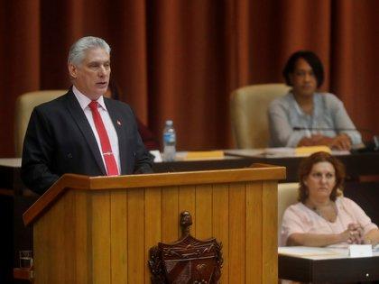 El presidente cubano Miguel Díaz-Canel (EFE/Yander Zamora/Archivo)