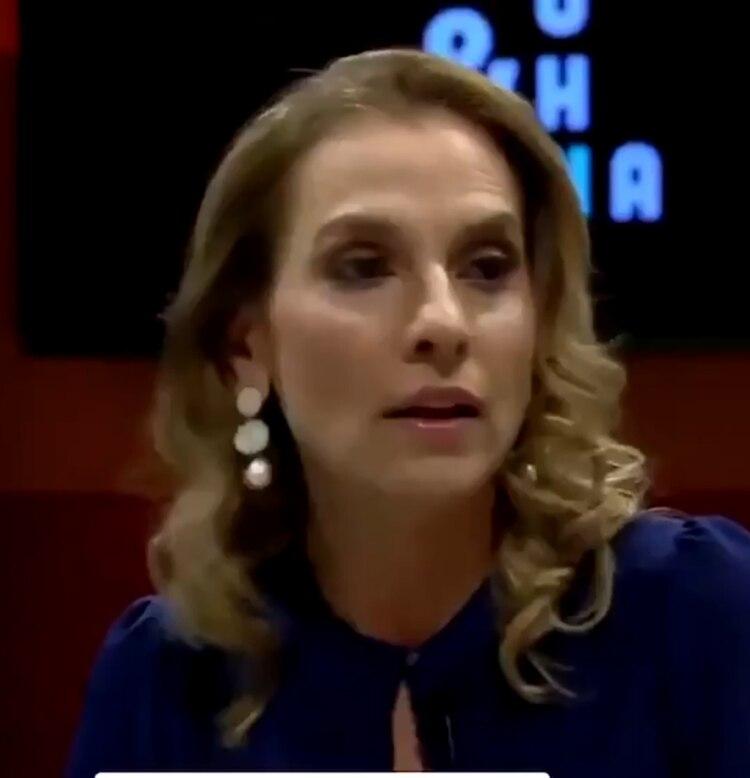 La compararon con el exmandatario Enrique Peña Nieto. (Foto: captura de pantalla)