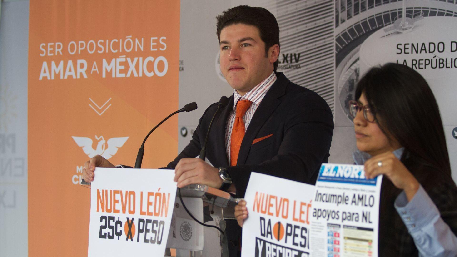 Samuel García es uno de los críticos más vocales de la administración de AMLO (Foto: Cuartoscuro)