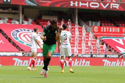 Santos está en la posición 14 de la tabla general, fuera de la zona de Liguilla (Foto: Cortesía/ Club Santos)