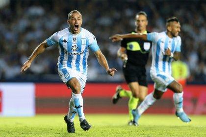 El Chelo Díaz es uno de los jugadores más queridos del plantel Desde su llegada ganó dos campeonatos y convirtió el histórico gol en el clásico frente a Independiente en el que la Academia terminó con 9.(Fotobaires)