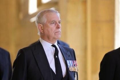 El príncipe Andrés, duque de York