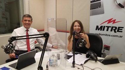 Pablo Rossi en radio Mitre. Programa: Volviendo a casa