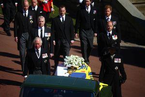 Las emotivas fotos del funeral del príncipe Felipe, duque de Edimburgo