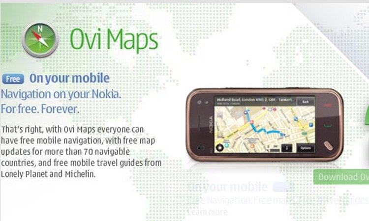 789fa124e6b Nokia brindará gratis navegación GPS guiada por voz en celulares ...