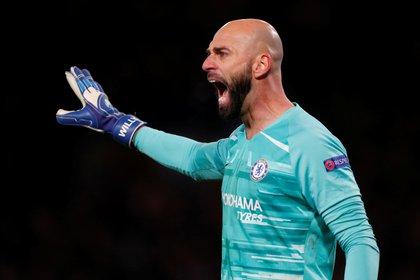 Caballero fue titular en el Chelsea (Reuters)