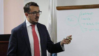 Julián Enrique Pinilla, personero de Bogotá. Foto: Alcaldía de Bogotá