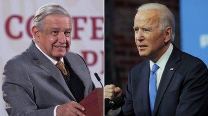 Biden también estuvo abierto a una propuesta de compartir vacunas con México (Foto: Reuters/ Presidencia)