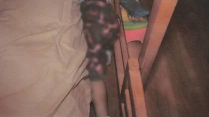 El cuerpo atrapado entre el colchón la cama (Foto: Cuartoscuro)