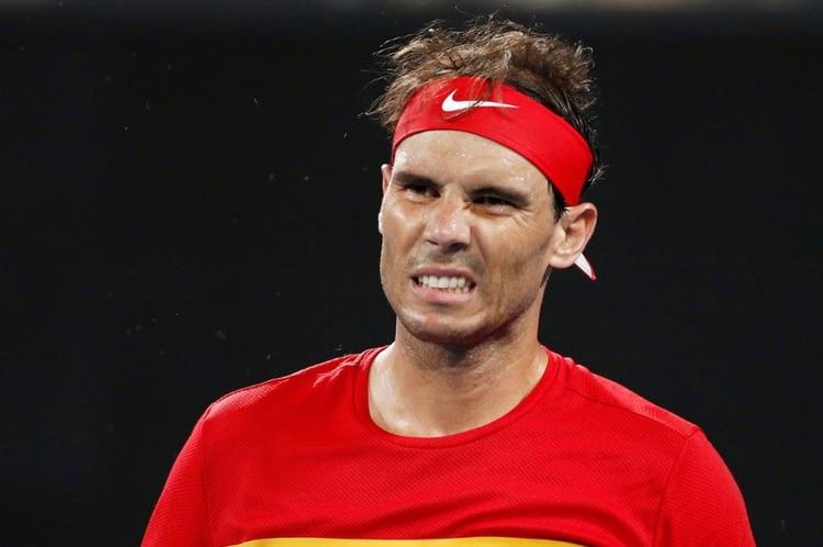 Nadal no jugó el dobles por cansancio (REUTERS)