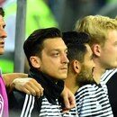 Soccer Football - World Cup - Group F - Germany vs Sweden - Fisht Stadium, Sochi, Russia - June 23, 2018 Germany's Mesut Ozil during the national anthems before the match REUTERS/Dylan Martinez