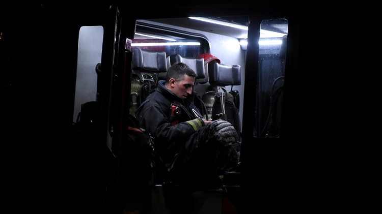 La muerte de dos compañeros provocó un gran trauma entre los bomberos de la Ciudad (Nicolás Stulberg)