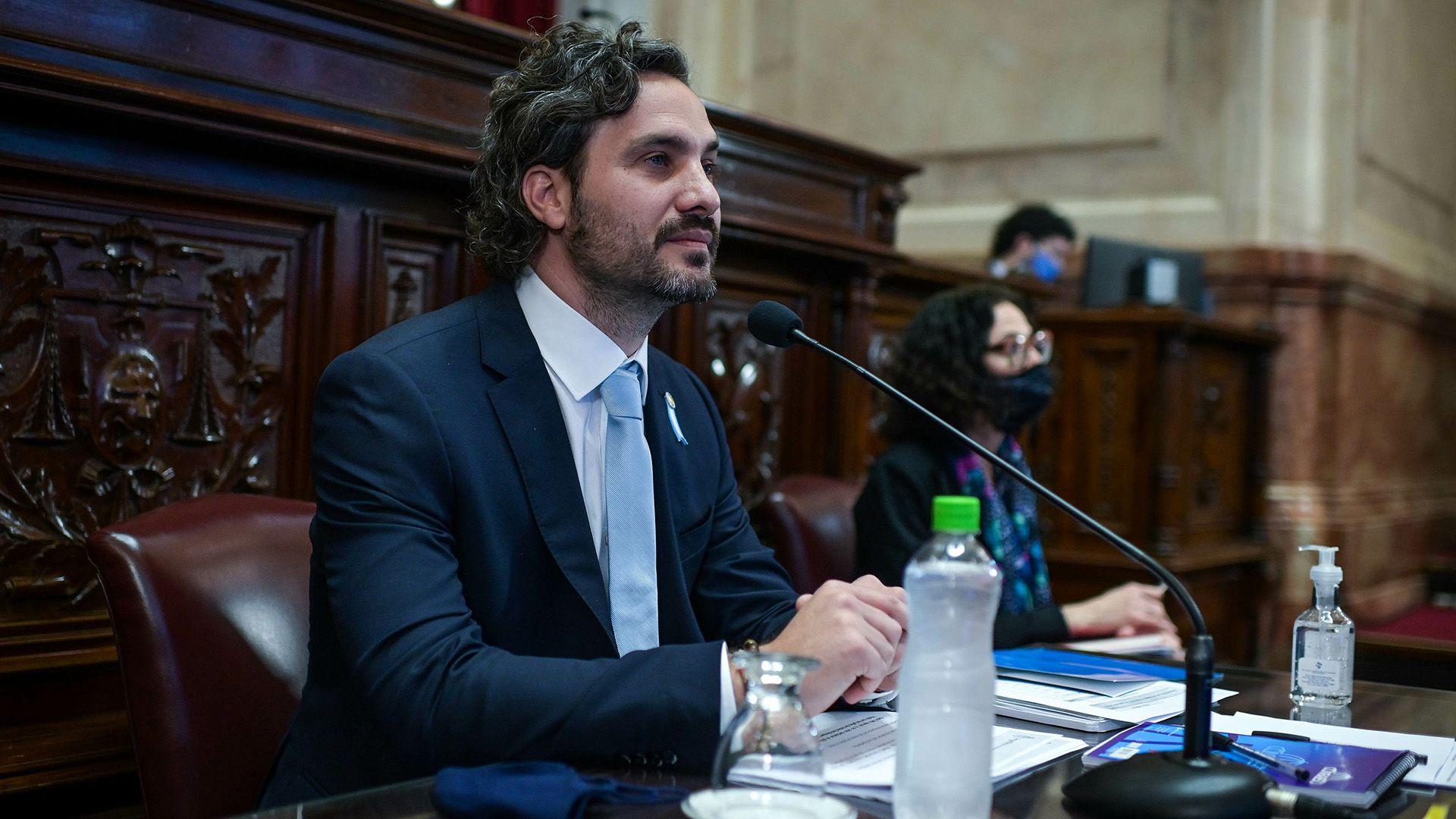 Santiago Cafiero - informe senado - 18 de junio 2020