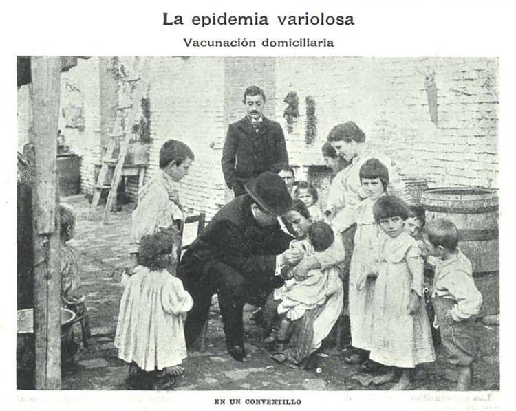 Durante la presidencia de Roca las campañas de vacunación eran una auténtica política de Estado