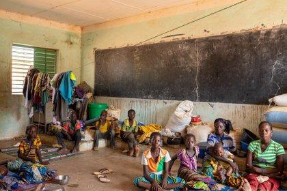 03/10/2019 Desplazados por la violencia en Burkina Faso en una escuela en Barsalogho POLITICA AFRICA BURKINA FASO INTERNACIONAL OCHA/OTTO BAKANO