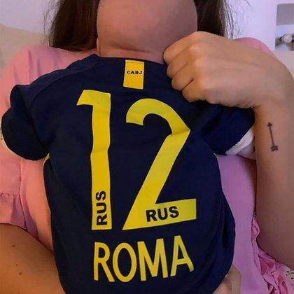 """""""Me había olvidado de que cuando lo conocí a Andrés (Caldarelli, su marido) y nos pusimos de novios, le dije que mi primera hija se va a llamar Roma"""", contó Dalma Maradona sobre el origen del nombre de su hija"""