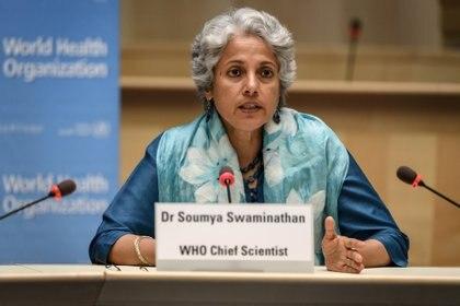 Soumya Swaminathan,, Jefa científica de la OMS (Reuters)