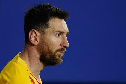 Lionel Messi dio la asistencia para Jordi Alba en el gol del FC Barcelona ante Osasuna (Foto: REUTERS)