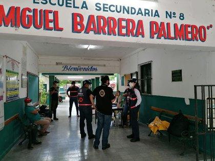 Por lo menos 81 refugios fueron habilitados en Quintana Roo (Foto: @CNPC_MX)