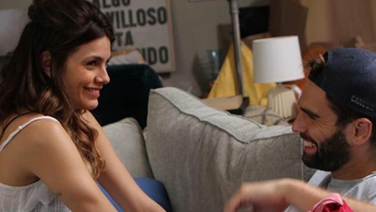 """El backstage de """"Amor de película"""", el film protagonizado por Nicolás Furtado y Natalie Pérez"""