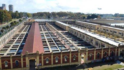 La planta potabilizadora General San Martín
