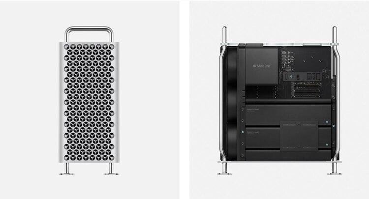 La nueva Mac Pro apuesta a la modularidad.