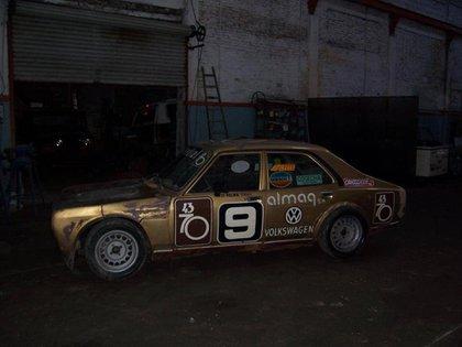 Así estaba el auto campeón a fines de la década de 2000 (Archivo CORSA).