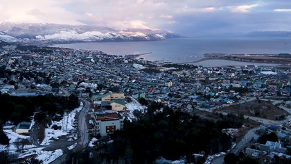 The SMN observed that in the city of Ushuaia (where the measurements were made) there was a decrease in CO and CO2 concentrations.