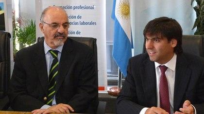 Carlos Tomada y Diego Bossio (NA)