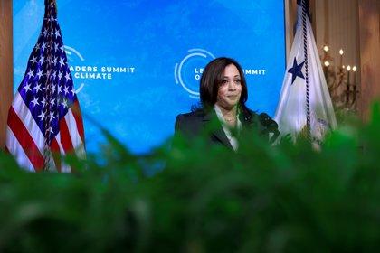 La vicepresidente Kamala Harris (REUTERS/Tom Brenner)