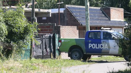 La casa donde ocurrió el crimen, bajo consigna policial (Salva Santiago)