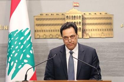 Hasan Diab, el primer ministro de El Libano