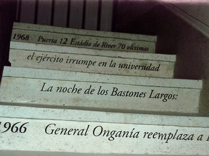 """""""Dolores de Argentina, discurso de una violencia"""". Porto Alegre, Brasil. 2001"""