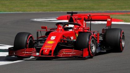 Vettel no consiguió ningun podio en lo que va del 2020 - REUTERS