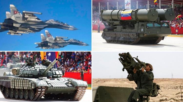 Armamento ruso en Venezuela