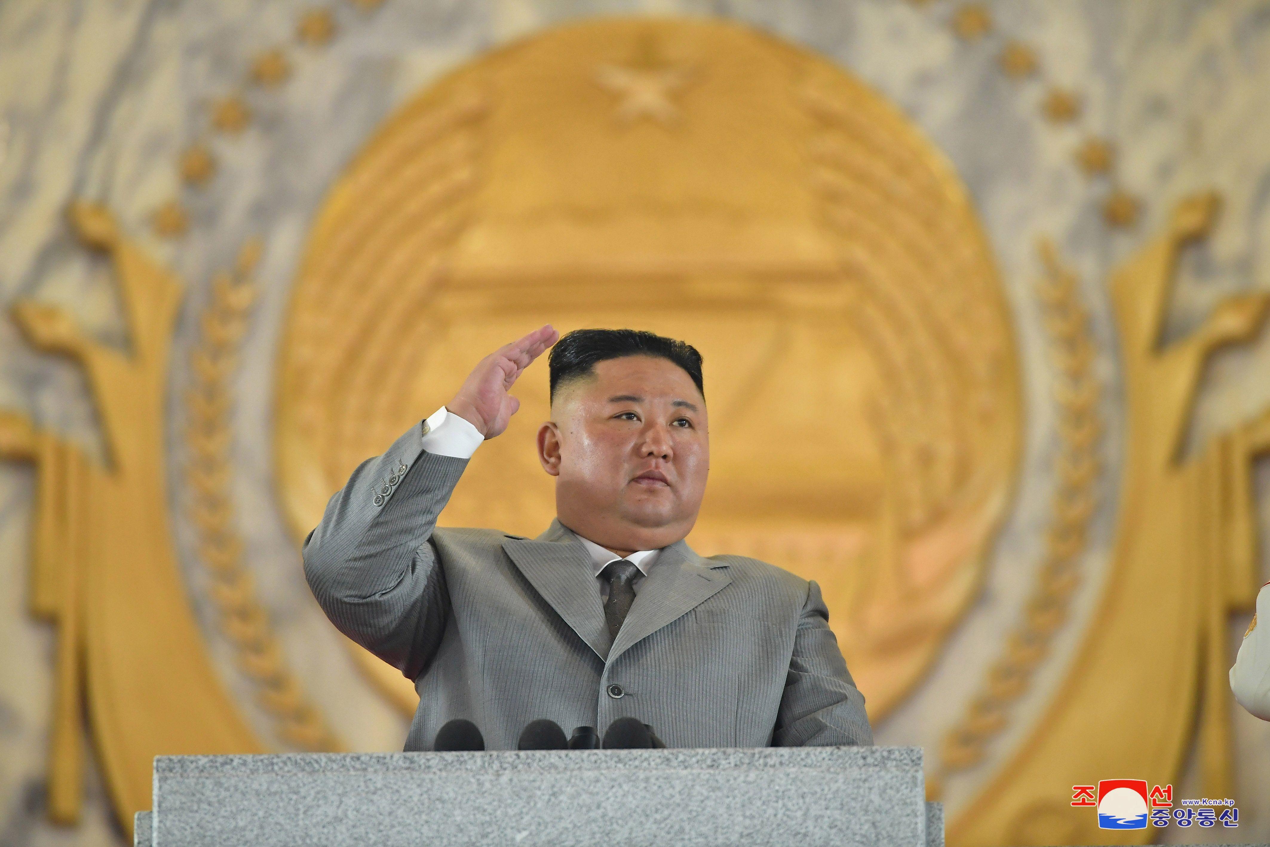 El líder norcoreano, Kim Jong-un. EFE/EPA/KCNA/Archivo