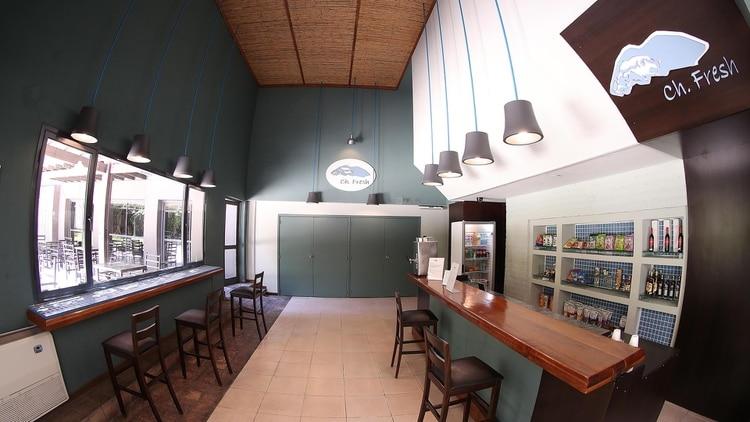 El interior del hotel (Marcelo Ruiz)