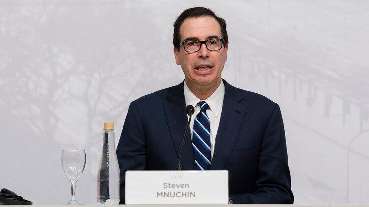 Steven Mnuchin, secretario del Tesoro de Estados Unidos (Adrián Escandar)