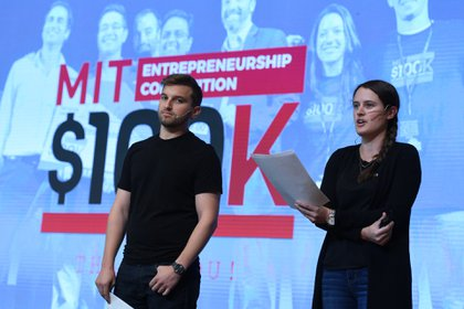 Harry Kainen y  Katharine Krieger del MIT supervisaron el concurso originario de Boston