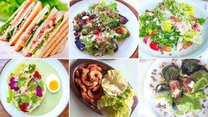 No sólo una simple ensalada: la lechuga es parte fundamental de varias preparaciones
