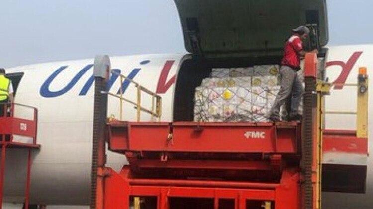 La ayuda se destinará a 650 mil personas (@HaslerIglesias)