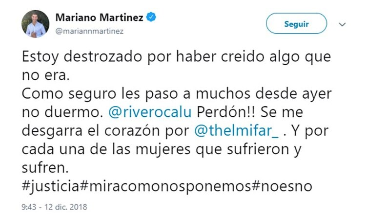 Mariano Mart's chirping